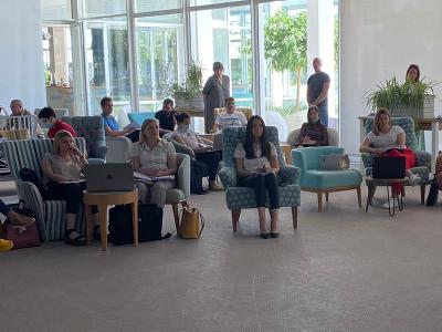 """U Šibeniku održana provedbena radionica za korisnike bespovratnih sredstava odobrenih na pozivu """"Prostori sudjelovanja"""" 4"""