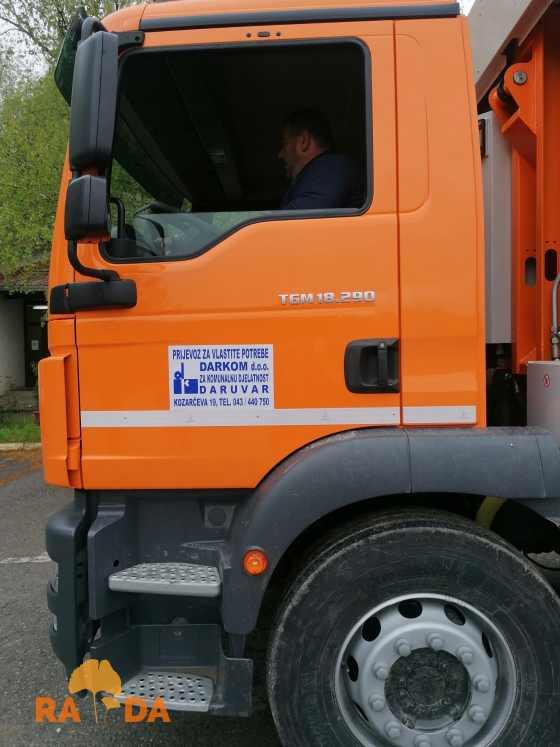 Komunalno vozilo za odvojeno prikupljanje otpada stiglo u Darkom d.o.o. 3