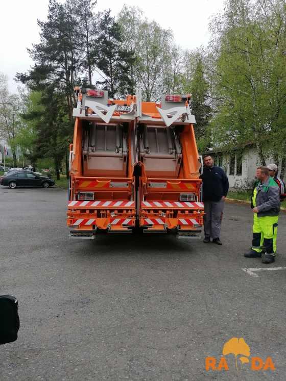 Komunalno vozilo za odvojeno prikupljanje otpada stiglo u Darkom d.o.o. 2