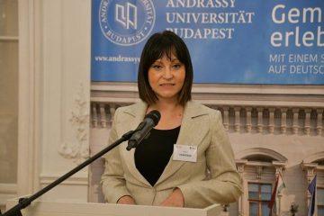 Ministrica Tramišak u Budimpešti na konferenciji o međunarodnoj suradnji u Europi 1