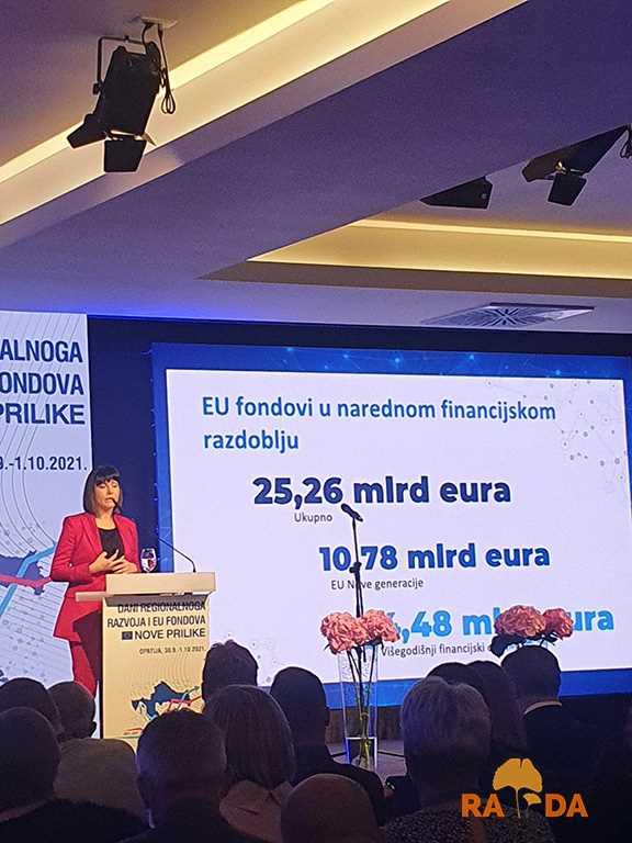 """Otvorena konferencija """"Dani regionalnoga razvoja i fondova EU – Nove prilike"""" 1"""